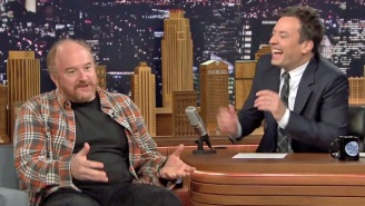 Louis C.K. Impersonates Jerry Seinfeld And Jimmy Fallon, Talks About Being A Struggling Comic