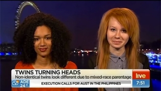 Watch This Anchor Painfully Botch Her Interview With Interracial Twins
