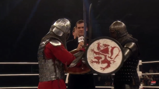 Watch This Insane MMA Fight Between Two Medieval Knights