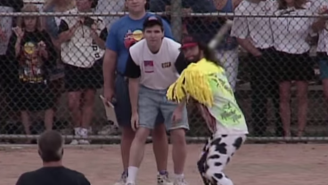 Celebrate Baseball's Opening Day By Watching Macho Man Sock A Few Dingers