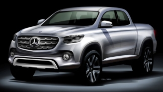 Mercedes Has A Fancy Pickup Truck For The Person Who Will Never Help Friends Move