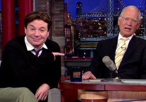 Mike Myers Had No Idea He Was Invited To #SNL40 Until He Saw The Super Bowl Promo