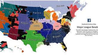 Which Baseball Team Is The Most Popular Where You Live? Facebook Has The Answer.