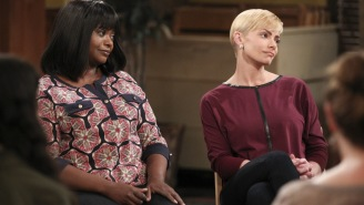 Jaime Pressly and Mimi Kennedy discuss their part of the 'Mom' universe
