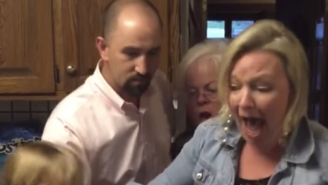A Mother Of Six Boys Flips Out When She Learns She's Having A Girl