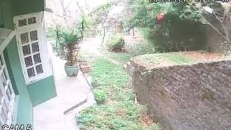 Security Camera Footage Of The Nepalese Earthquake Reveals Just How Violent It Was