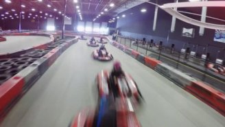 Can Professional Stunt Drivers Safely Text And Drive? We Put Them In Go-Karts To Find Out