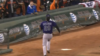 Watch What Will Likely Be The Best Catch Of The Baseball Season