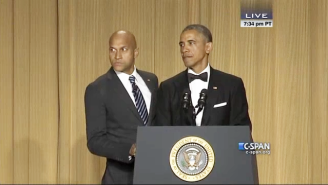 Obama Brought His Anger Translator To The White House Correspondents' Dinner