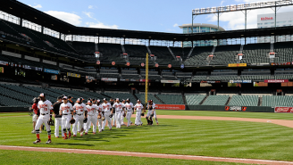 Watch The Many Weird Moments During The Orioles-White Sox Empty Stadium Game