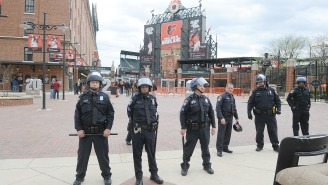 Monday's Orioles Game Was Canceled Because Of The Baltimore Riots