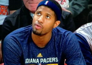 Paul George And Other Pacers Players Wear #HeadbandForCopeland To Honor Injured Teammate