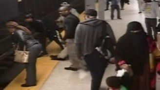 This Subway Hero Jumped Onto The Tracks To Save A Fellow Passenger