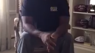 Ray Lewis Has a Video Message For The People of Baltimore