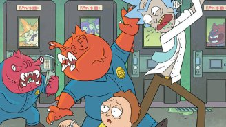 'Rick And Morty' And Other Comics Of Note, April 1