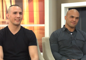 UFC Champ Robbie Lawler And Rory MacDonald Had Some Awkward Trash Talk