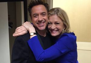 Robert Downey, Jr. Bites Back At Interviewer With Diane Sawyer Photo Op
