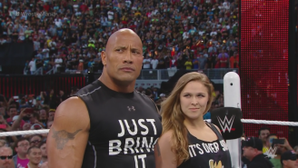 David Spade Thinks Ronda Rousey In WWE Is 'A Step Backwards'