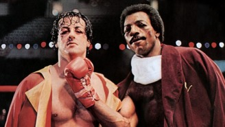 Sylvester Stallone Shared The First Official Photo From The 'Rocky' Spin-Off Movie 'Creed'
