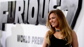 Check Out Ronda Rousey Rocking Prison Clothes For Her First Post-UFC Acting Gig