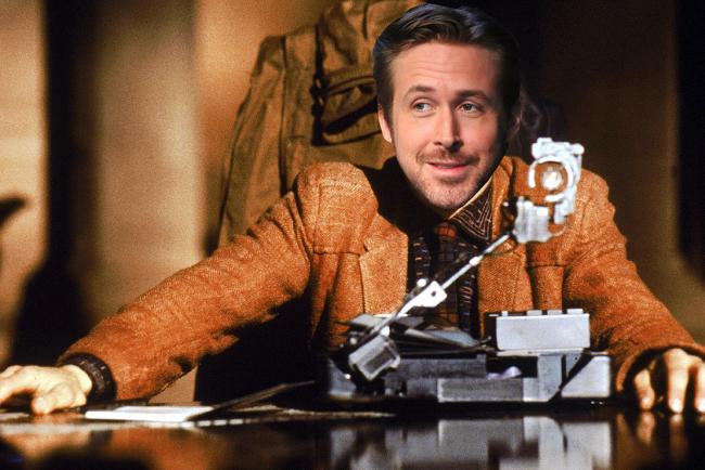 Ryan Gosling in Blade Runner