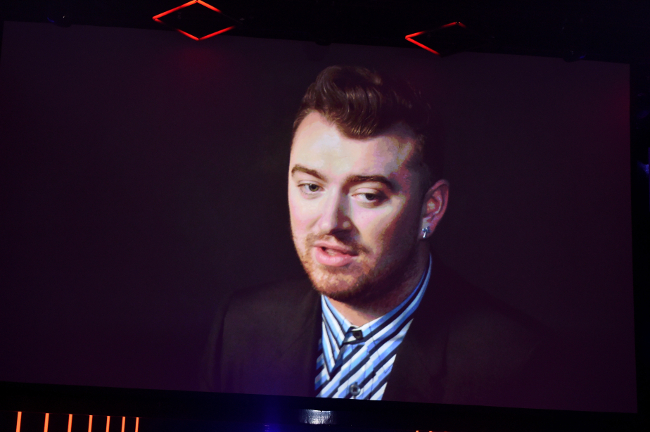 Sam Smith at some event