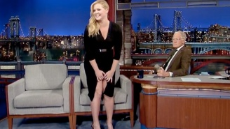 Amy Schumer Showed David Letterman 'Her Vagina' On 'The Late Show' Last Night