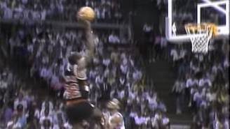 Watch Isiah Thomas Relive The Time Clyde Drexler Posterized Him In The Finals