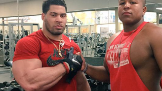 LaRon Landry Responds To P.E.D. Suspension By Getting Even More Freakishly Huge