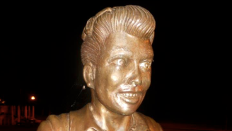 'I Love Lucy' Fans Want This 'Frightening' Statue Of Lucille Ball Destroyed