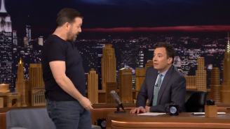 Ricky Gervais Talked About The Time He Accidentally Peed On His Girlfriend