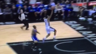 Witness Kawhi 'Klaw' Leonard Eat Steph Curry Alive On This Steal Before The Dunk
