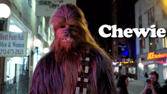 Someone Finally Put Chewbacca In The Opening Titles For 'Louie'