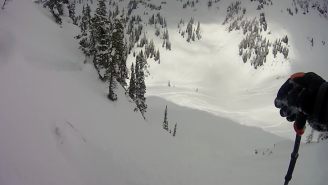 Want A First-Person Experience Of What It's Like When An Avalanche Swallows You Up?