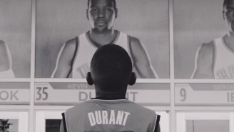Is This New Kevin Durant Video Corny Or Cool?