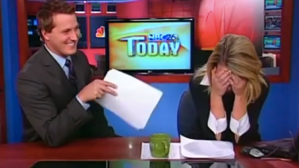 Watch This News Anchor Go Full Ron Burgundy, Get Tricked Into Saying A Line From 'Anchorman'