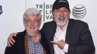 Here Are All The Interesting Things George Lucas Told Stephen Colbert In Their Tribeca Film Fest Chat