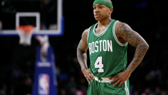 Celtics PG Isaiah Thomas Once Pissed On The Sideline Instead Of Leaving A Close Game