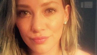 Hilary Duff Is Apparently The Newest Celebrity Using Tinder And Is Ready To Get Pizza
