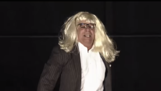 Auburn's Bruce Pearl Lip Syncing To Taylor Swift In A Blonde Wig Is Glorious