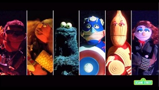 'Sesame Street' Parodies 'Avengers: Age Of Ultron', Doesn't Know What Hawkeye Does Either