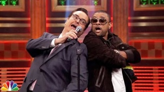 Jimmy Fallon Pulled Shaggy Onto 'The Tonight Show' For The First Ever 'Shaggy Off'