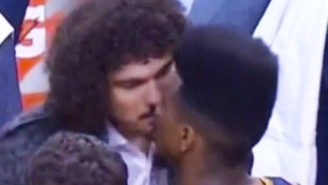 Watch Iman Shumpert And Anderson Varejao Share An Intimate Moment During Game 3