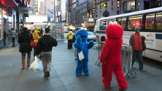 A Times Square Cookie Monster Was Arrested After Allegedly Groping A Teenage Girl