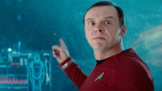 Simon Pegg Talks 'Star Trek 3' And Idris Elba