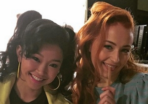 Sophie Turner and Lana Condor are FLAWLESS in their 'X-Men: Apocalypse' costumes