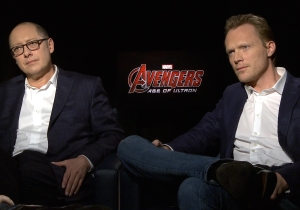 Paul Bettany and James Spader on bringing Ultron and the Vision to life