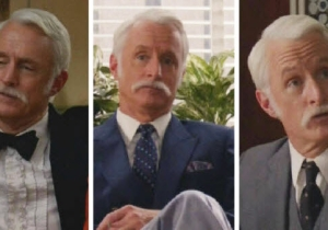 The Secrets Of Roger Sterling's 'Mad Men' Mustache Have Been Revealed