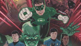 'Star Trek/Green Lantern: The Spectrum War' Comic Crossover Is Coming
