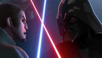 The New 'Star Wars Rebels' Season 2 Trailer Reveals Darth Vader's Triumphant Return